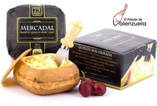 Queso Artesanal Mahón-Menorca Añejo mini con D.O Mercadal